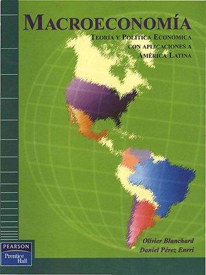 cover image of Macroeconomía
