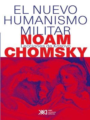 cover image of El nuevo humanismo militar