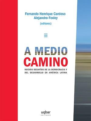cover image of A medio camino
