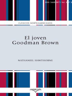 cover image of El joven Goodman Brown
