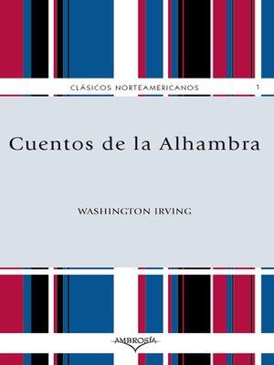 cover image of Cuentos de la Alhambra