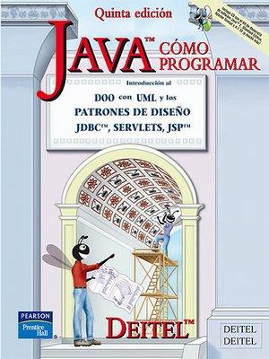 cover image of Como Programar En Java