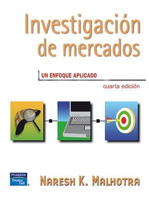 cover image of Investigación De Mercados