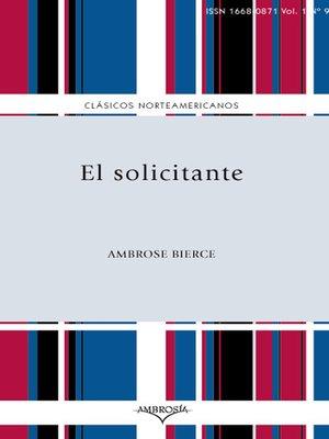 cover image of El solicitante
