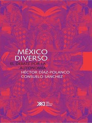 cover image of México diverso