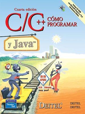 cover image of Como Programar C/C++ Y Java