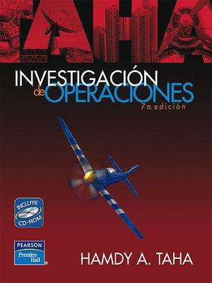 cover image of Investigación De Operaciones