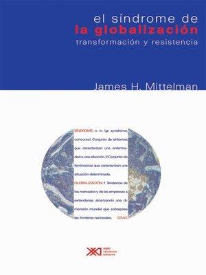 cover image of El síndrome de la globalización