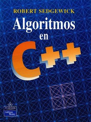cover image of Algoritmos en C++