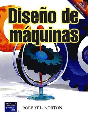 cover image of DISEÑO DE MÁQUINAS