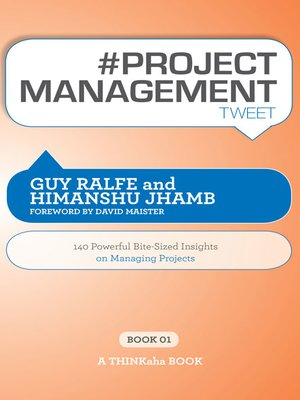cover image of #PROJECT MANAGEMENT tweet Book01
