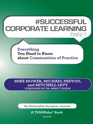 cover image of #SUCCESSFUL CORPORATE LEARNING tweet Book07