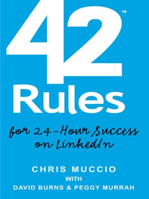 cover image of 42 Rules for 24-Hour Success on LinkedIn