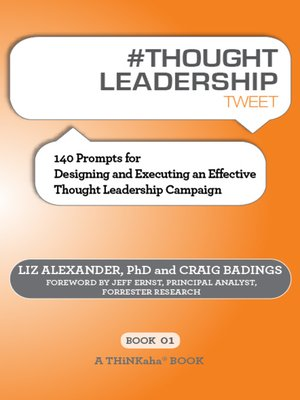 cover image of #THOUGHT LEADERSHIP tweet Book01