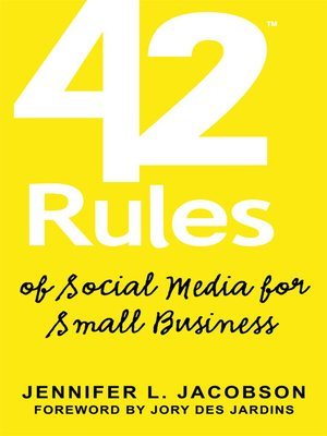 cover image of 42 Rules of Social Media for Small Business