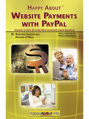 cover image of Happy About Website Payments with PayPal