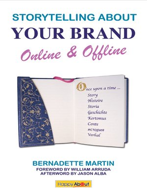 cover image of Storytelling about Your Brand Online & Offline