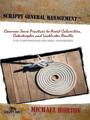 cover image of Scrappy General Management