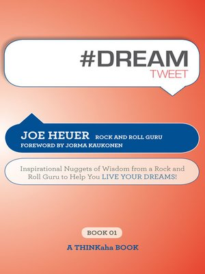 cover image of #DREAMtweet Book01