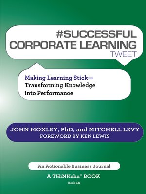 cover image of #SUCCESSFUL CORPORATE LEARNING tweet Book10
