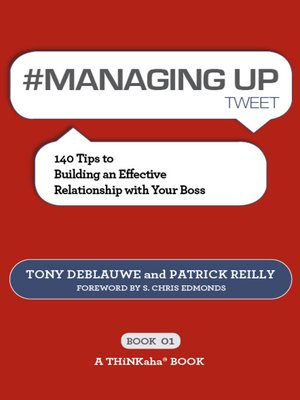 cover image of #MANAGING UP tweet Book01