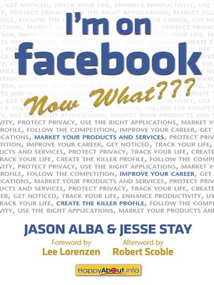 cover image of I'm on Facebook--Now What???
