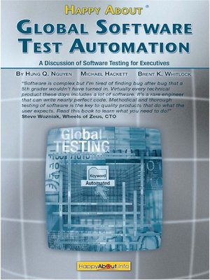 cover image of Happy About Global Software Test Automation