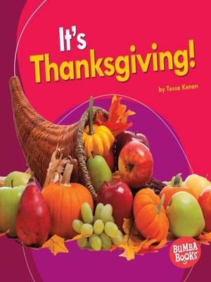 cover image of It's Thanksgiving!