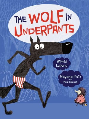cover image of The Wolf in Underpants