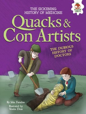 cover image of Quacks and Con Artists
