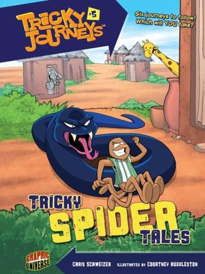 cover image of #05 Tricky Spider Tales