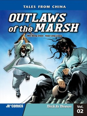 cover image of Outlaws of the Marsh, Volume 2