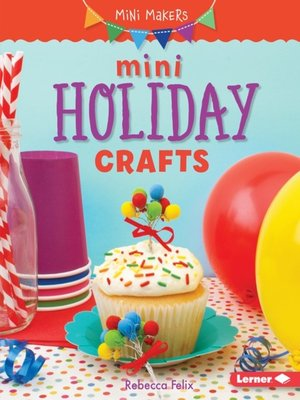 cover image of Mini Holiday Crafts