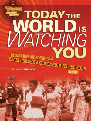 cover image of Today the World Is Watching You