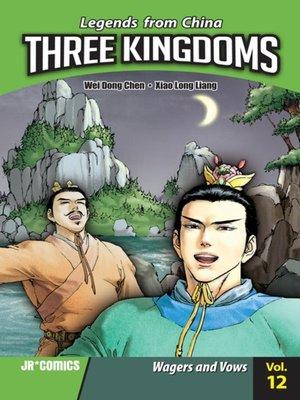 cover image of Three Kingdoms, Volume 12