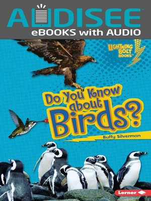 cover image of Do You Know about Birds?