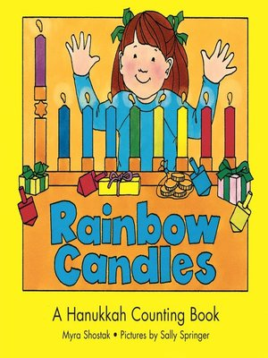 cover image of Rainbow Candles