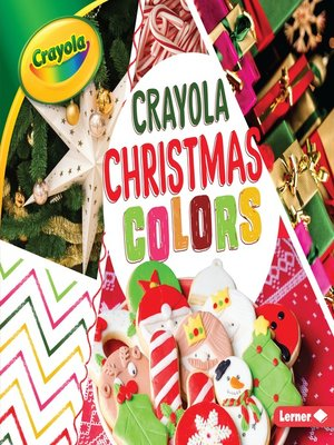 cover image of Crayola Christmas Colors