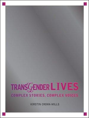 cover image of Transgender Lives