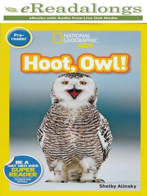 cover image of Hoot, Owl!