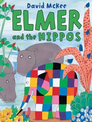 cover image of Elmer and the Hippos