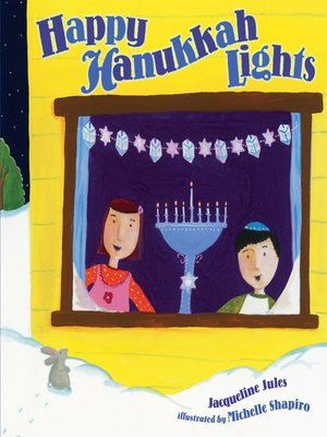cover image of Happy Hanukkah Lights