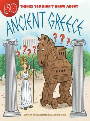 cover image of 50 Things You Didn't Know about Ancient Greece