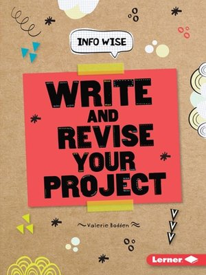 cover image of Write and Revise Your Project