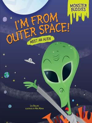 cover image of I'm from Outer Space!