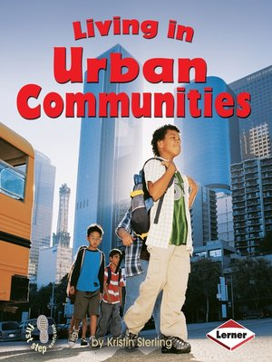 cover image of Living in Urban Communities