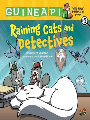 cover image of Raining Cats and Detectives