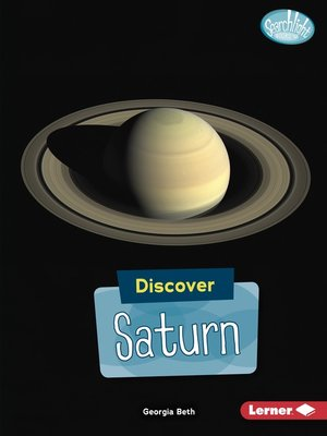 cover image of Discover Saturn