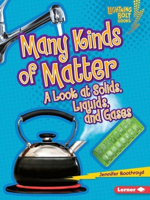 cover image of Many Kinds of Matter