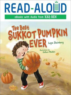 cover image of The Best Sukkot Pumpkin Ever